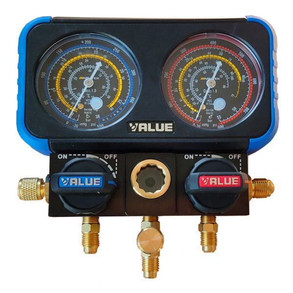 گیج دوقلو value مدل VRM2-B-0401
